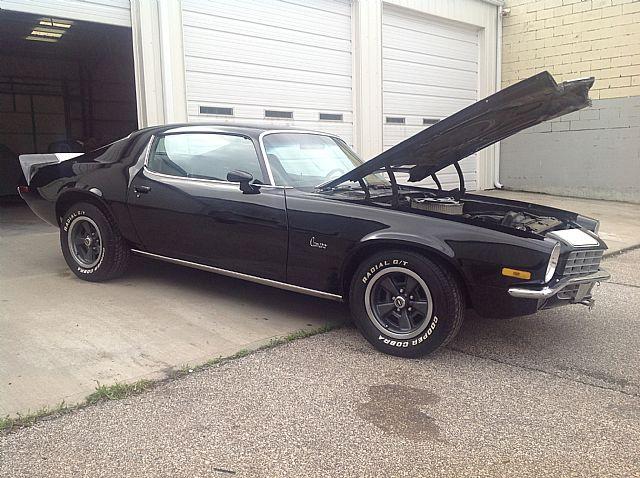 1972 Chevrolet Camaro For Sale Kansas City Missouri