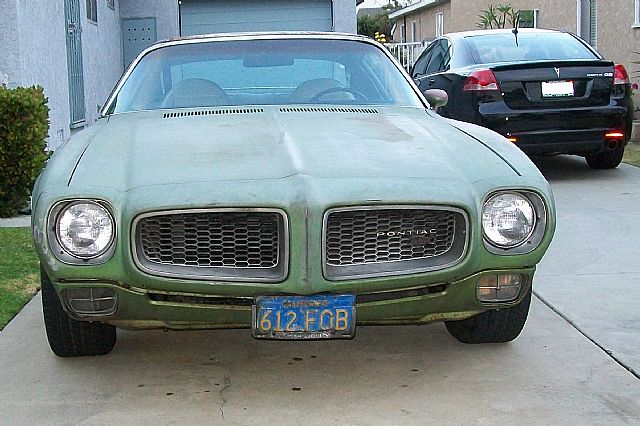 1972 Pontiac Firebird for sale