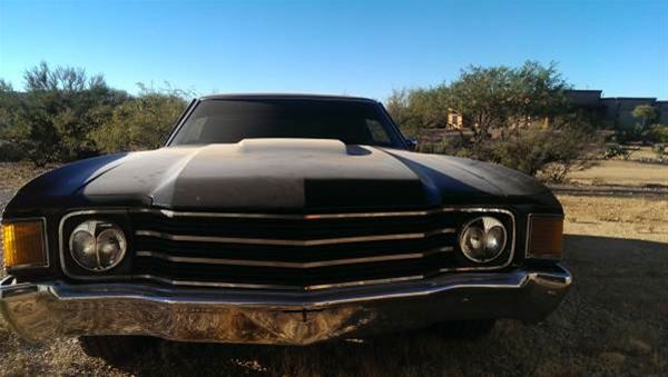 1972 Chevrolet Chevelle For Sale Tucson Arizona