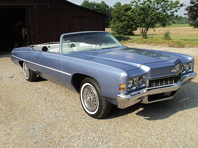 1972 chevrolet impala convertible for sale creston ohio. Black Bedroom Furniture Sets. Home Design Ideas