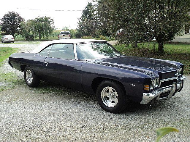 1972 Chevrolet Impala Convertible For Sale Creston   Ohio