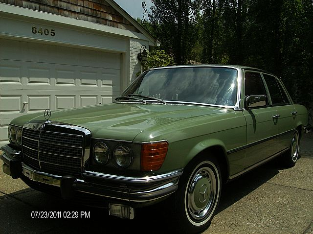 1973 mercedes 450se for sale indianapolis indiana. Black Bedroom Furniture Sets. Home Design Ideas
