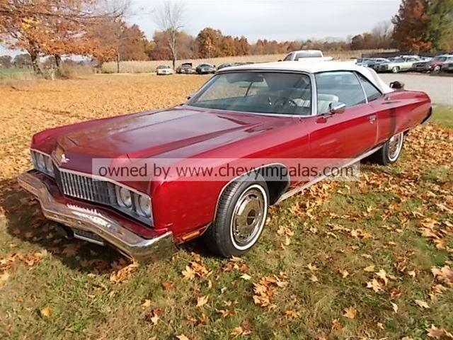 1973 Chevrolet Caprice Convertible For Sale Creston, Ohio