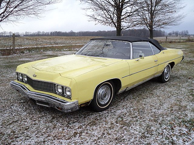 1973 chevrolet caprice for sale creston ohio. Black Bedroom Furniture Sets. Home Design Ideas