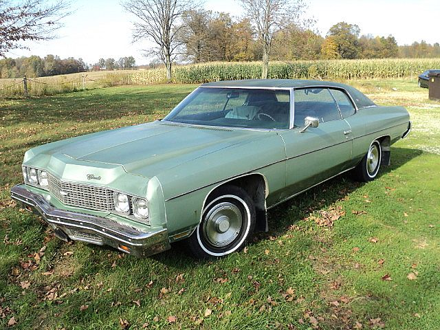1973 Chevrolet Impala 2 Door Hardtop For Sale Creston , Ohio