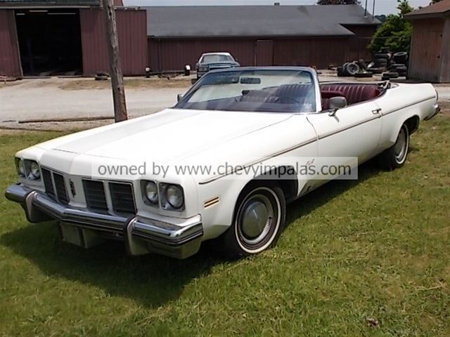 75 olds delta 88 convertible for sale