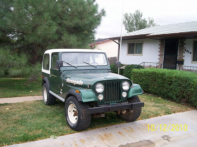 1977 Jeep Renegade for sale