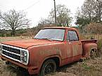 1978 Dodge Lil Red Wagon