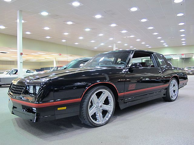 1987 chevrolet monte carlo aero coupe ss for sale troy michigan. Black Bedroom Furniture Sets. Home Design Ideas