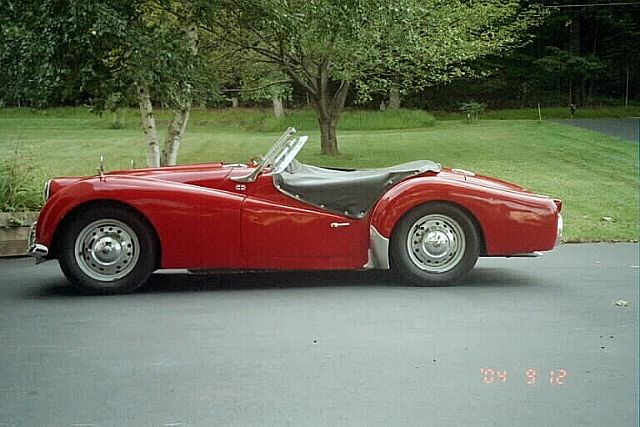 1958 Triumph Tr3a Project Car For Sale: 1958 Triumph TR3A For Sale Pittstown, New Jersey