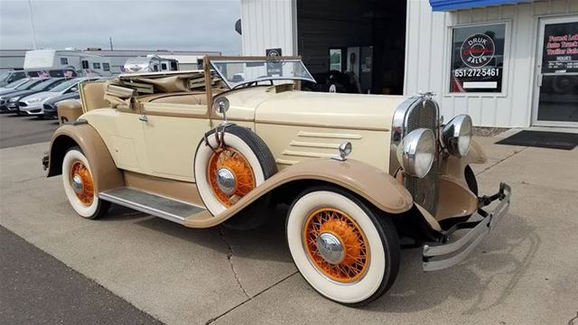 1930 Franklin Convertible