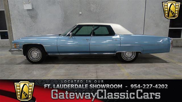1974 Cadillac Sedan Deville For Sale Coral Springs Florida