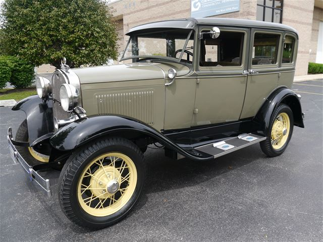 1930 ford model a town sedan for sale alsip illinois for 1930 model a 4 door sedan