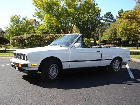 1989 BMW 325i Convertible For Sale Buffalo Grove Illinois