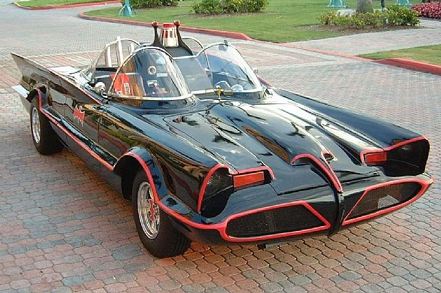 1966 Lincoln TV Batmobile(TM)