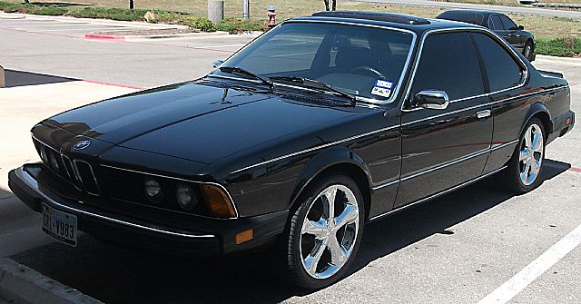 1984 BMW 633CSi for sale