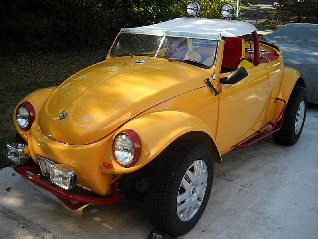 1970 Volkswagen Beetle Convertible Roadster For Sale Charlotte, North Carolina