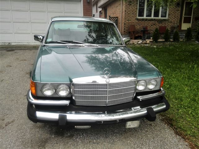 1980 mercedes 450sel for sale barrie ontario for Mercedes benz for sale ontario