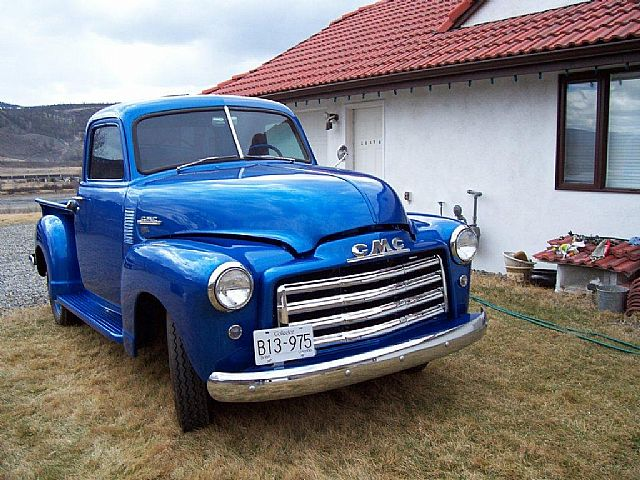 1950 gmc pickup truck for sale kamloops british columbia. Black Bedroom Furniture Sets. Home Design Ideas
