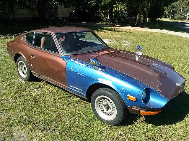1972 datsun 240z for sale bradenton florida. Black Bedroom Furniture Sets. Home Design Ideas