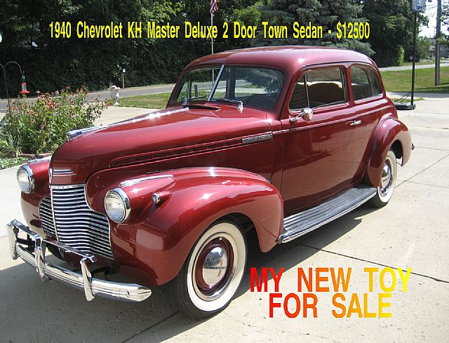 1940 Chevrolet Master Deluxe for sale
