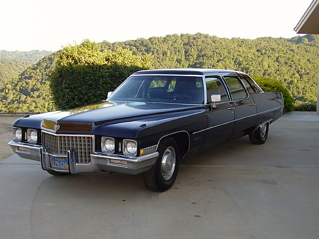 1971 Cadillac Fleetwood for sale