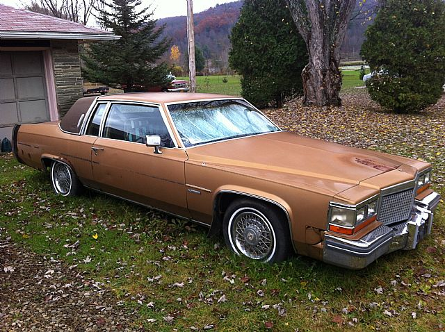 1981 Cadillac Coupe DeVille for sale
