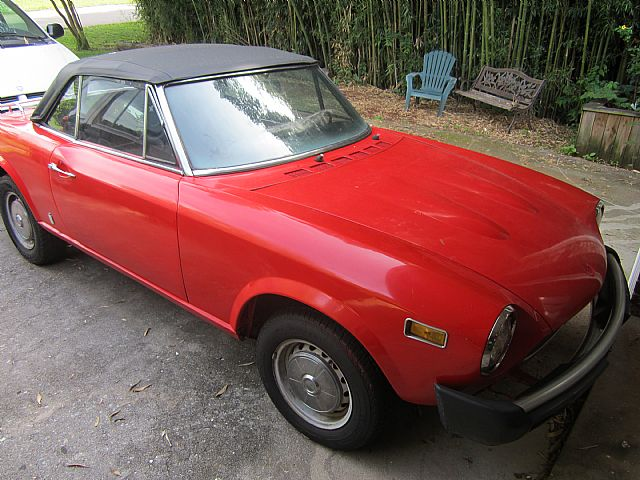1977 Fiat Spider for sale