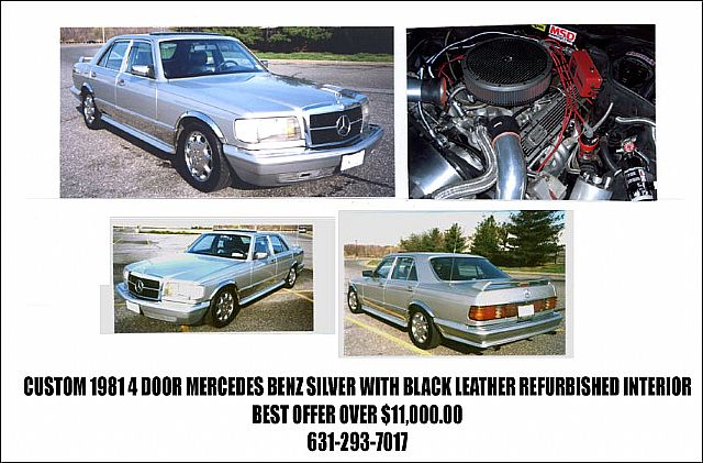 1981 Mercedes Custom for sale