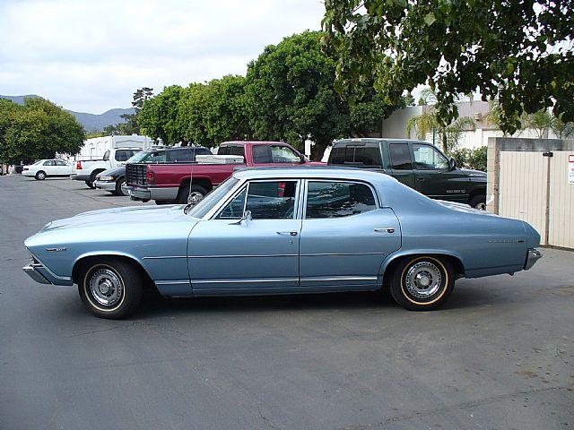 1969 chevrolet malibu for sale camarillo california 4 Door Chevelle Gold 1969 chevrolet malibu for sale