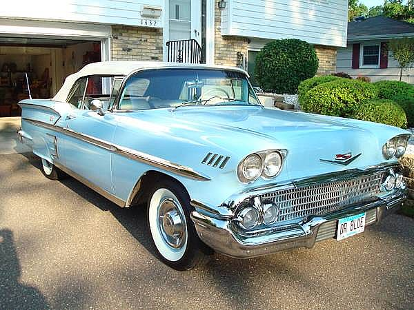 1958 chevrolet impala for sale golden valley minnesota. Black Bedroom Furniture Sets. Home Design Ideas