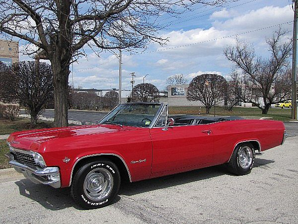 1965 chevrolet impala ss convertible for sale alsip illinois. Black Bedroom Furniture Sets. Home Design Ideas
