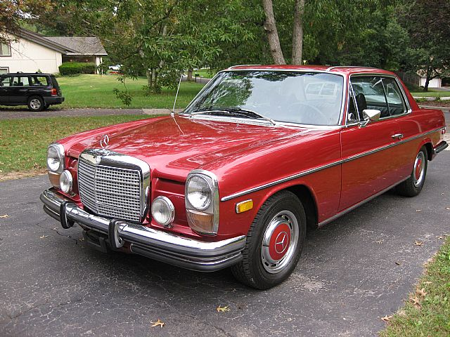 1973 mercedes 280ce coupe for sale gaithersburg maryland for Mercedes benz 280ce for sale