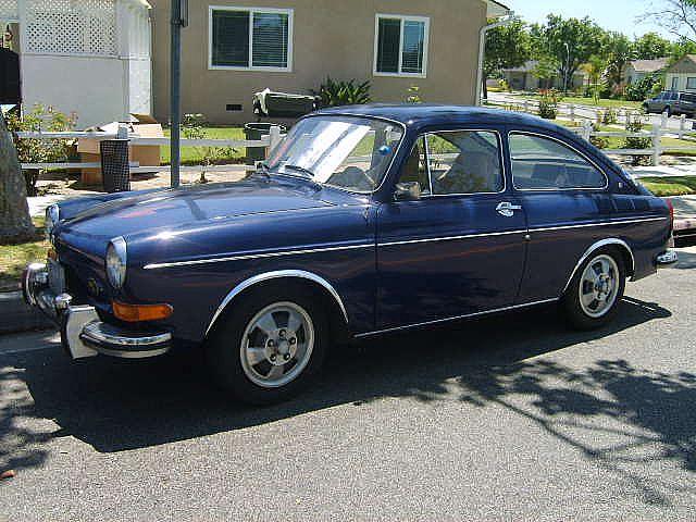 1971 Volkswagen Fastback For Sale Lakewood, California