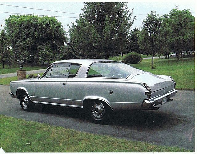 1966 Plymouth Barracuda for sale