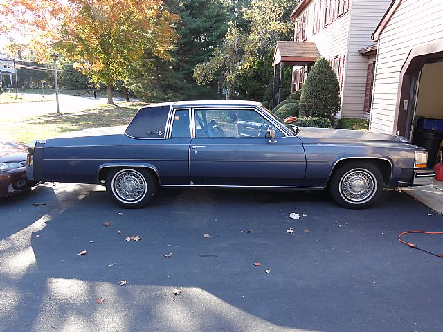 1984 Cadillac Coupe DeVille for sale