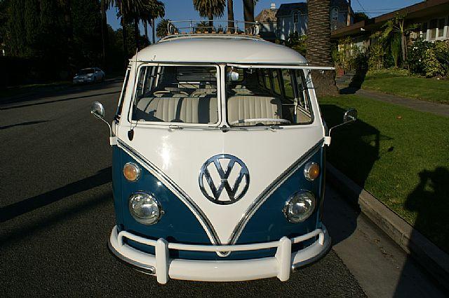 1967 Volkswagen Bus 21 Window Deluxe Microbus For Sale Santa Monica, California