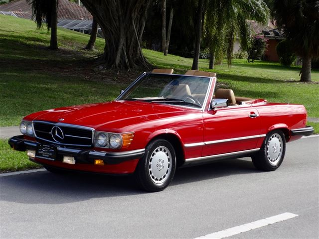 1988 mercedes 560sl for sale delray beach florida for 1988 mercedes benz 560sl for sale