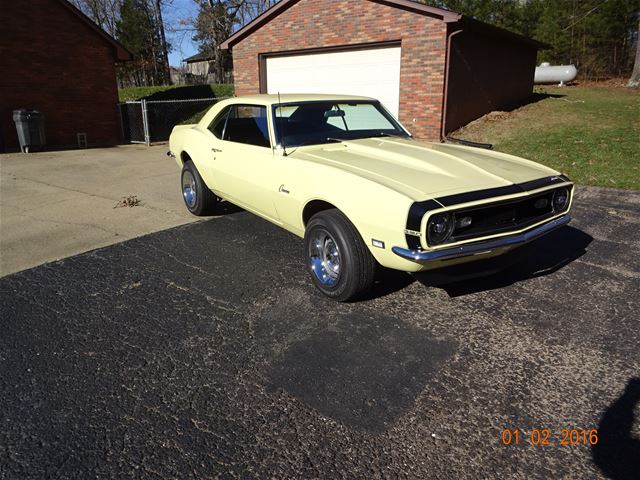 1968 Chevrolet Camaro For Sale Radcliff Kentucky