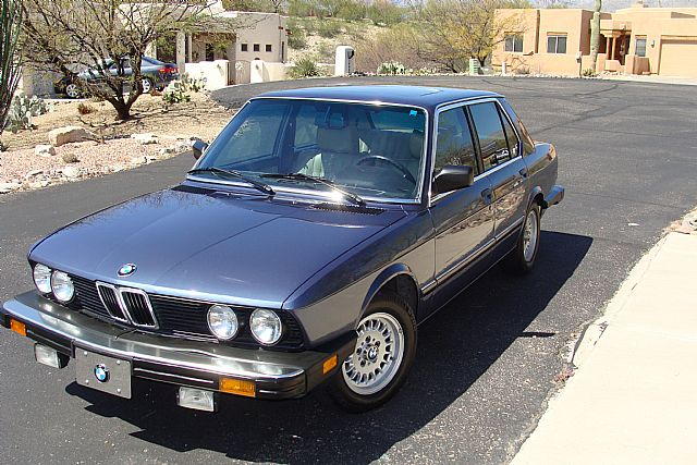 1984 Bmw 528e For Sale Tucson Arizona