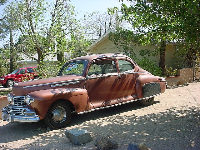 1946 Lincoln Coupe for sale