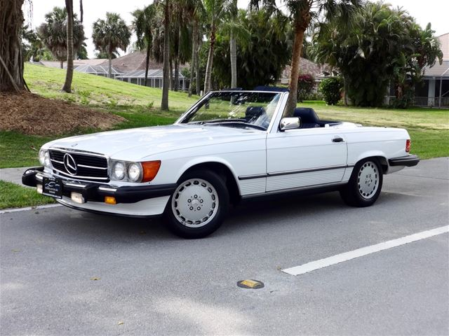 1989 Mercedes 560sl For Sale Delray Beach Florida