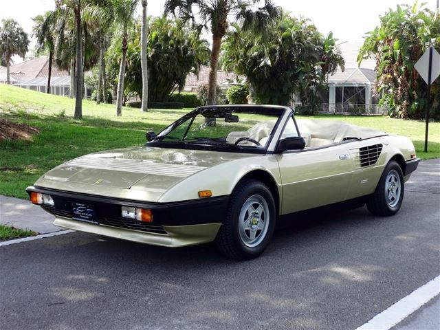 1985 ferrari mondial cabriolet for sale delray beach florida. Black Bedroom Furniture Sets. Home Design Ideas