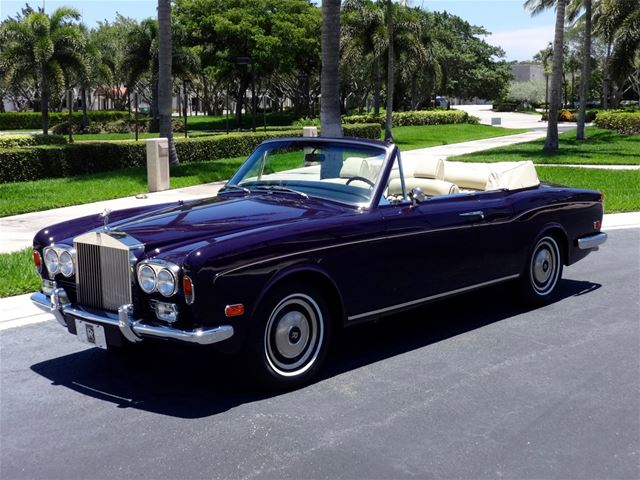 1973 rolls royce corniche for sale delray beach florida. Black Bedroom Furniture Sets. Home Design Ideas