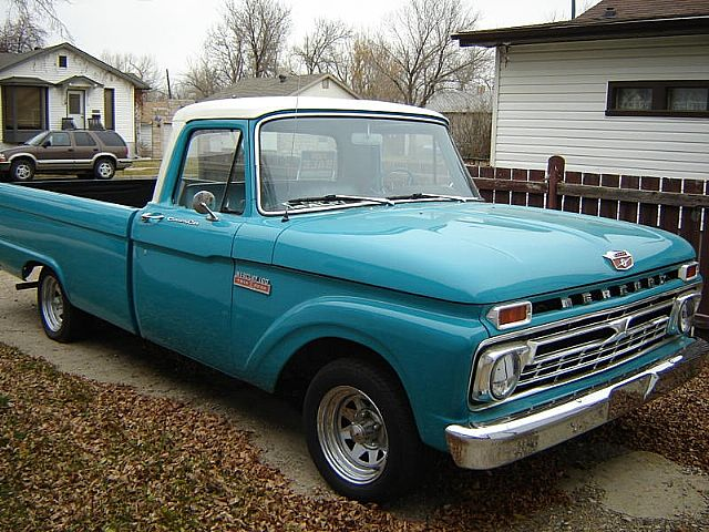1966 Mercury Custom Cab for sale