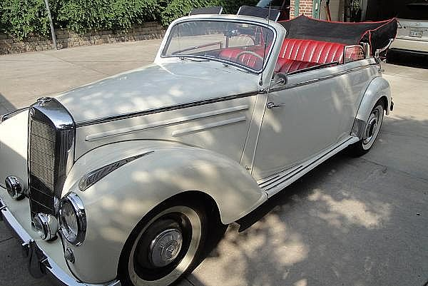 1953 Mercedes 220 for sale