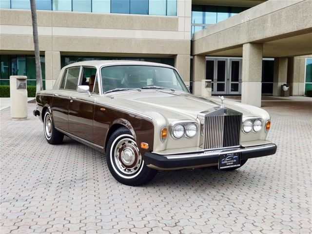 1980 rolls royce silver shadow ii for sale delray beach florida. Black Bedroom Furniture Sets. Home Design Ideas
