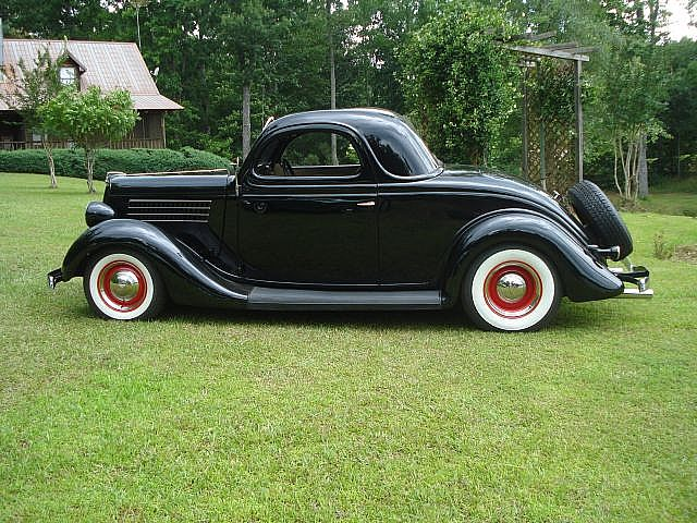 1935 Ford 3-Window Coupe, 350 Crate Motor, Rebuilt 350 transmission ...