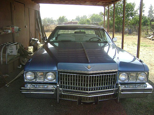 1973 Cadillac Coupe DeVille For Sale Riverside, California