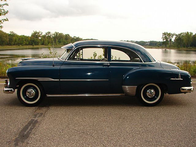 Chevy styleline doors chevrolet 1951 styleline sedan for 1951 chevy deluxe 4 door for sale